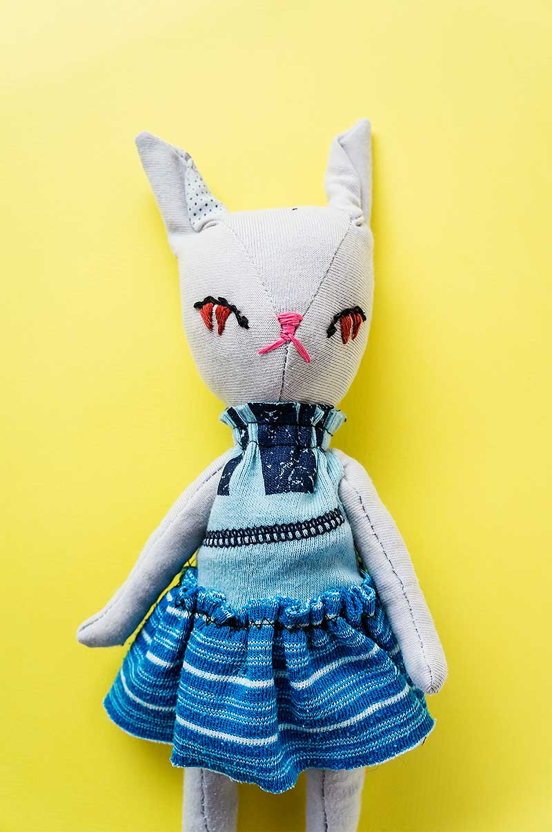 Becca, Bunny plushies by Marn Wong // Marn Made It