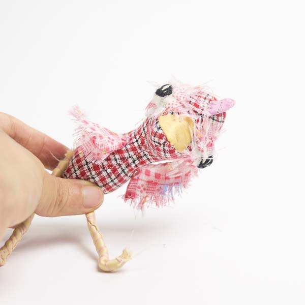 Clara the chicken pocket doll has skinny posable legs