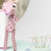 Harriet the horse pocket doll is posable with multiple articulations