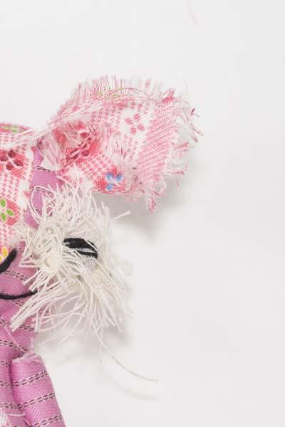 Sage the dandelion darling pink pocket doll handmade ooak