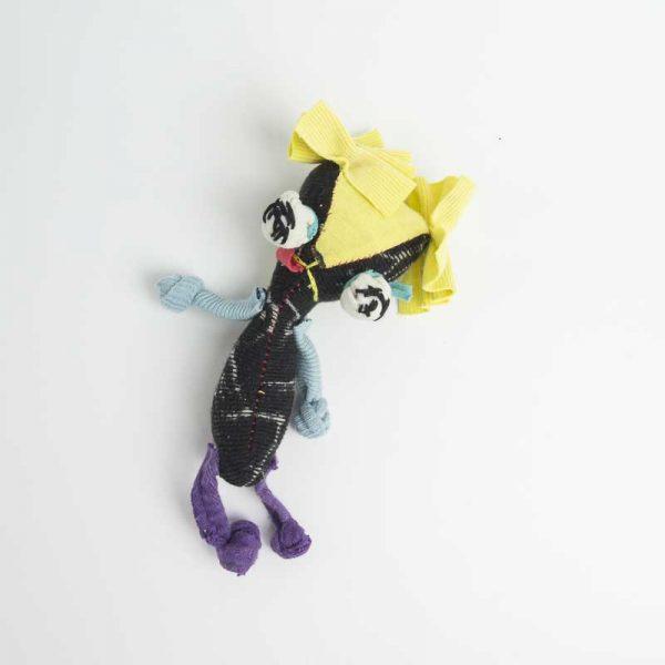 shitzu dog pocket anxiety doll