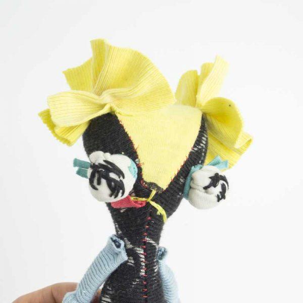 handmade shitzu play doll pocket size
