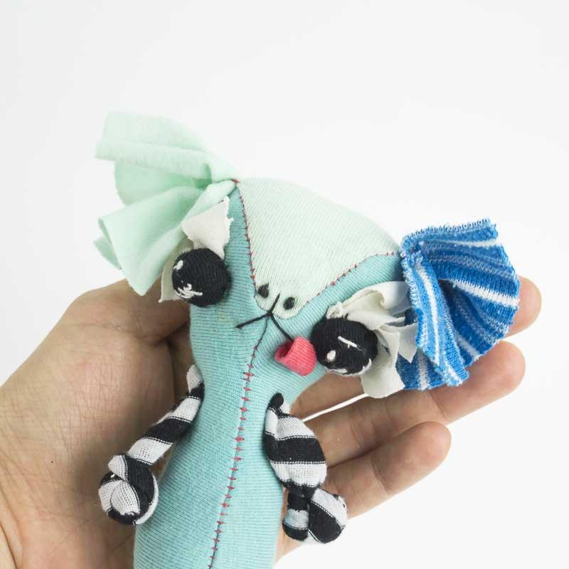 shitzu dog cute doll with big eyes