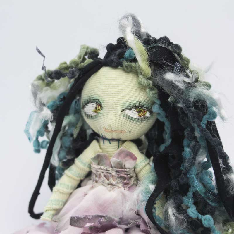 handmade corpse bride pocket doll