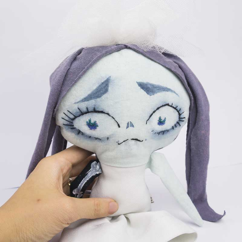corpse bride handmade doll