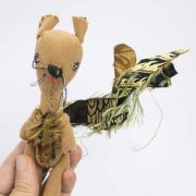 handmade squirrel doll