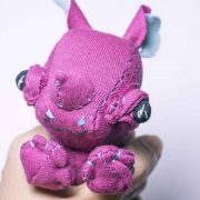 baby rhinoceros handmade animal doll