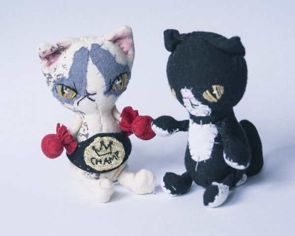 ragdoll scar cat plushie blythe friends