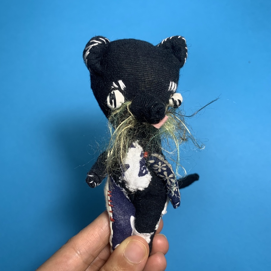 bearcat binturong textile doll